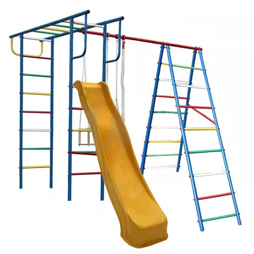 Детский спортивный комплекс (ДСК) «Вертикаль-А+П» дачный с горкой 3,0 м