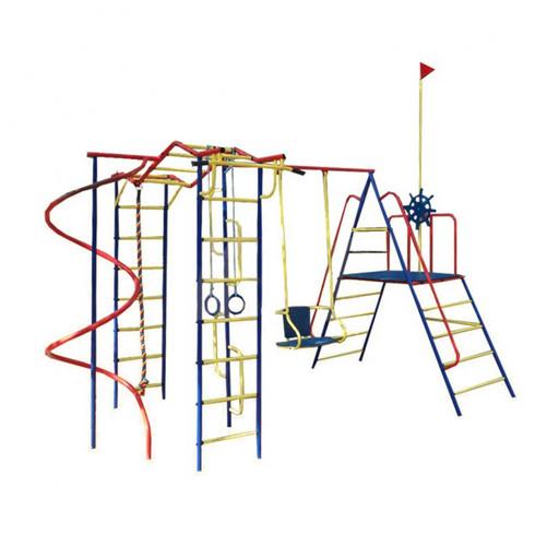 Детский спортивный комплекс (ДСК) «Пионер» Юнга дачный со спиралью