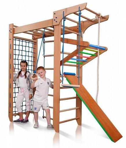 Детский спортивный комплекс «Bombino 5» 220см из БУКА
