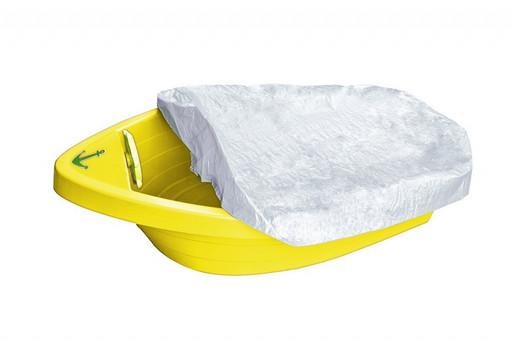 Детская песочница-бассейн «Лодочка с покрытием»