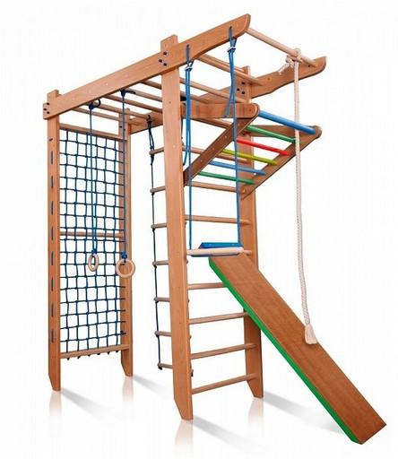 Детский спортивный комплекс «Гимнаст 5» 240см из БУКА
