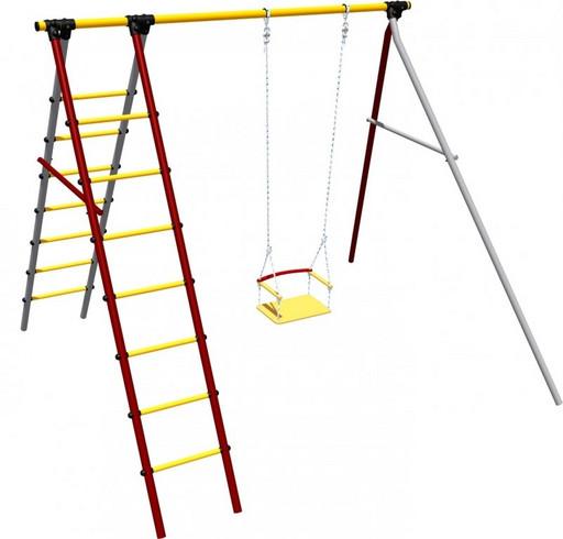 Детский спортивный комплекс (ДСК) «Карусель 3.3.19.07» Алфавит дачный
