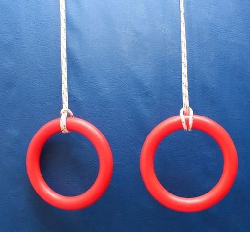 Кольца гимнастические PLASTEP