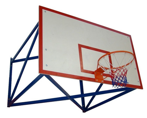 Щит баскетбольный белый фанера 18 мм