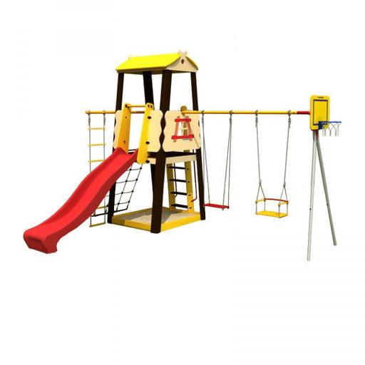 Детский спортивный комплекс (ДСК) «Карусель 102.03.00» Избушка
