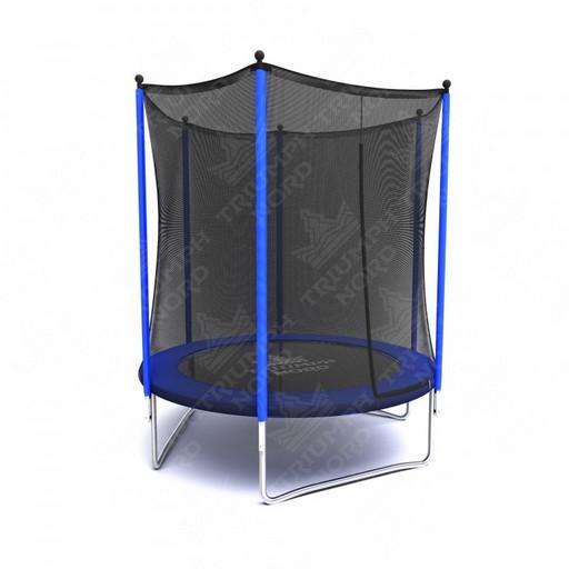 Батут с защитной сеткой «Триумф Норд спортивный» диаметр 183 см