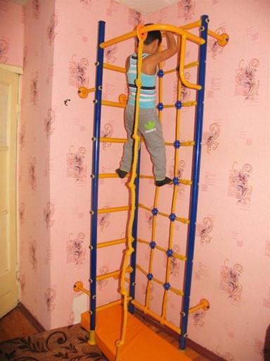 Детский спортивный комплекс «Пристенный-угловой Mini»