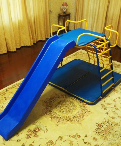 Детский спортивный комплекс «Напольный с горкой»