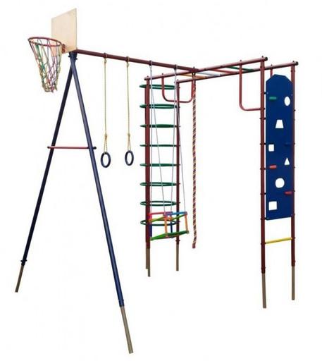 Детский спортивный комплекс (ДСК) «Вертикаль» «Сатурн со скалодромом» дачный