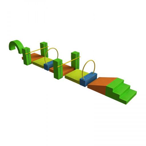Мягкий игровой комплекс Крокодил ДМФ-МК-17.89.23