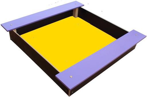 Песочница 100 цветная сидушка