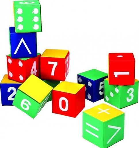 Мягкие кубики LAH-546