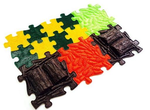 Модульный коврик «ИграПол» Набор 3 (Лесной)