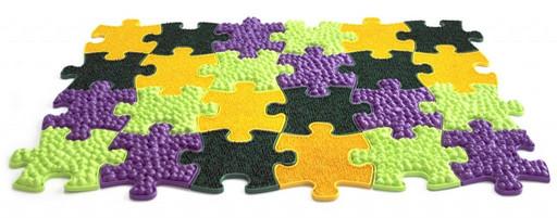 Модульный коврик «ИграПол» Набор 6 (Маленькие)