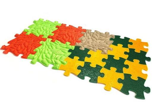 Модульный коврик «ИграПол» Набор 4 (Тропинка)