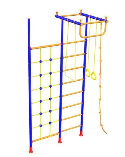 Детский спортивный уголок «Малыш-1» с сеткой для лазания