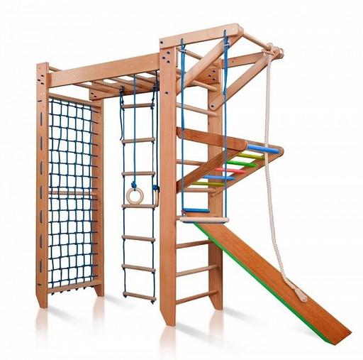 Детский спортивный комплекс Baby 5 220см из БУКА