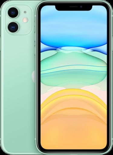 Apple iPhone 11, 64 ГБ, зелёный