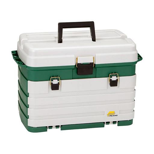 Ящик PLANO 758-005 с выдвижными полками с большим отсеком для хранения аксессуаров