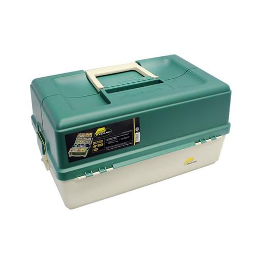 Ящик PLANO 9606-02 раздвижной с 6 лотками 54-76 отсеков
