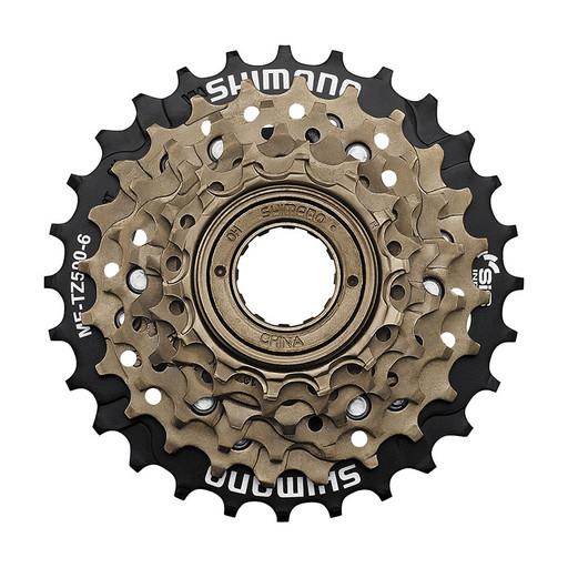 Трещотка Shimano, TZ500, 6ск, 14-28, б/уп.