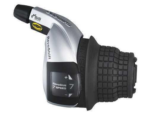 Шифтер Shimano Tourney, RS45, прав, 7ск, тр. 2050мм, б/уп.