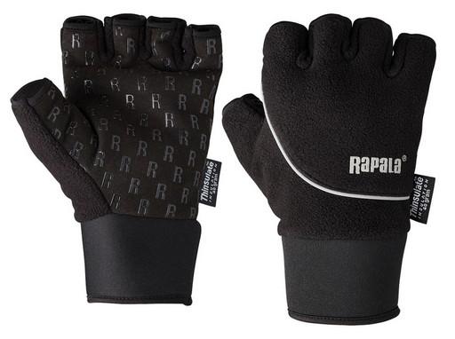 Перчатки RAPALA Stretch Half Finger размер M