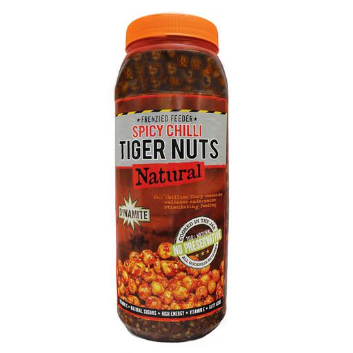 Тигровый орех консервированный DYNAMITE BAITS Chilli Tiger Nuts 2,5 л.