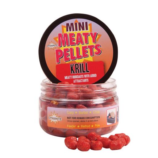 Пеллетс насадочный Dynamite Baits Meaty Fish Pellets 8 мм. Red Krill