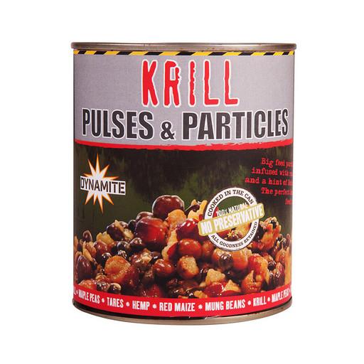 Смесь зерновых консервированная DYNAMITE BAITS Frenzied Pulse Krill Parti-Mix 700гр.