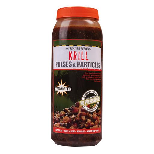Смесь зерновых консервированная DYNAMITE BAITS Frenzied Pulse Krill Parti-Mix 2.5л.