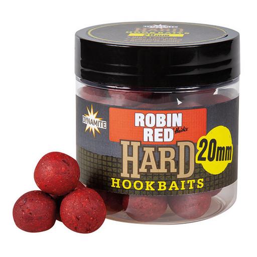 Бойлы DB Hard Hook Baits - Robin Red 20 мм.
