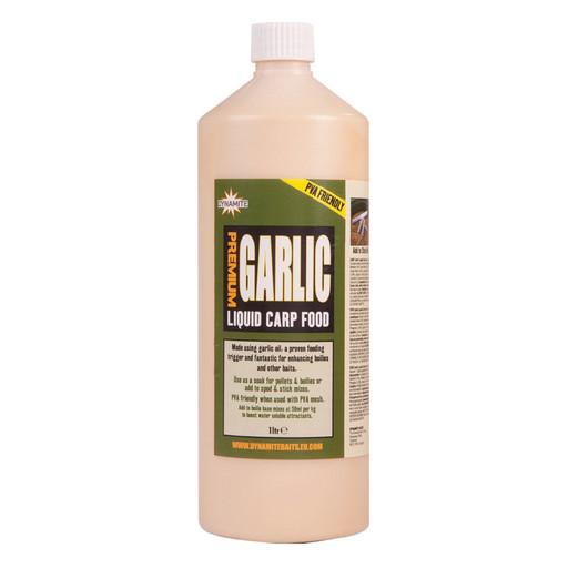 Жидкость DYNAMITE BAITS Carp Food Garlic 1Л.