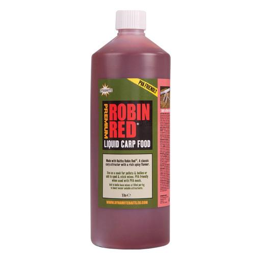 Жидкость DYNAMITE BAITS Carp Food Robin Red 1Л.