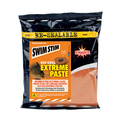 Паста DYNAMITE BAITS Swim Stim Extreme Paste Red Krill 350 гр.