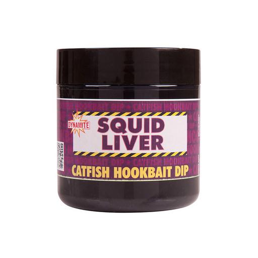 Дип DYNAMITE BAITS Dip Squid Liver Catfish 270 мл.
