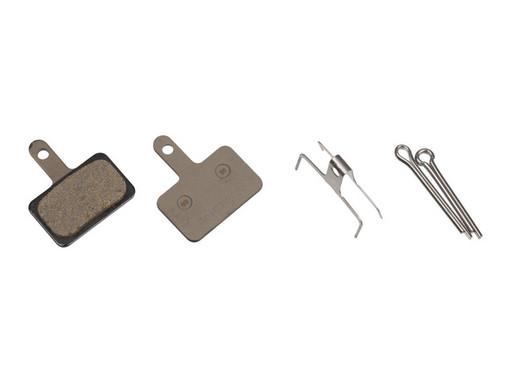Торм. Колодки Shimano, для диск т., B01S, полимерн., c шплинтом, (1пара)