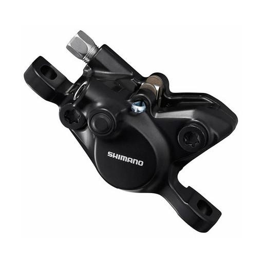 Калип. гидр. Shimano MT200, post mount, пласт. колодк. B01S, без адапт., цв. черный