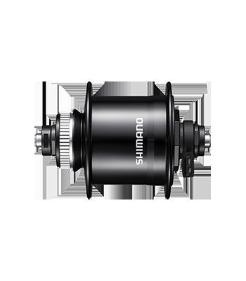 "Втулка динамо Shimano, UR700-3D, 32 отв, 6V-3W, QR, C.Lock, SM-DH10, черная, для колес 26-28"""