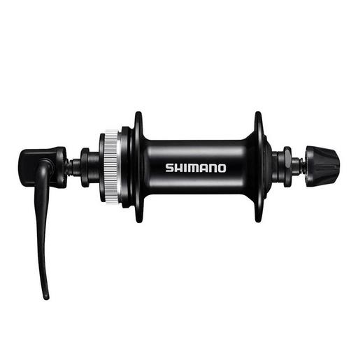 Втулка передн. Shimano MT200, 36отв, OLD:100мм, QR, под диск C.Lock, цв. черный