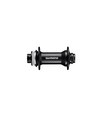 Втулка передн. Shimano MT400, 36отв, OLD:110мм, под полую ось 15мм, под диск C.Lock, цв. черный