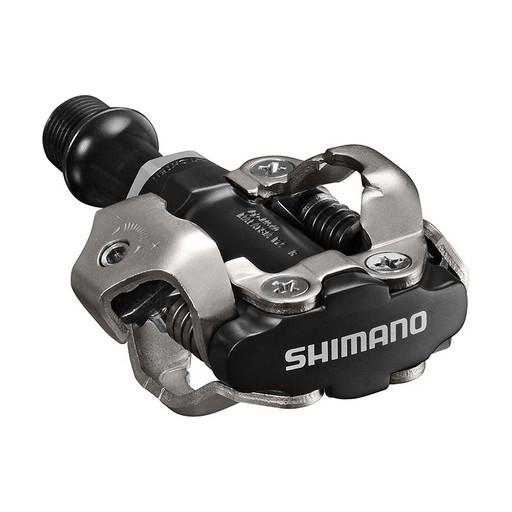 Педали Shimano, M540, с шипами, цв. черный