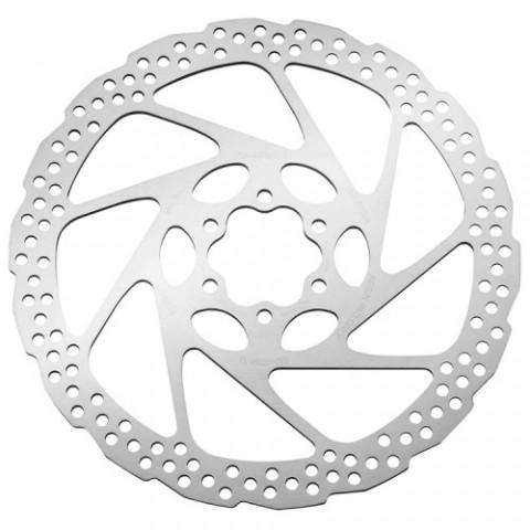 Тормозной диск Shimano, RT56, 160мм, 6-болт, только для пласт колод
