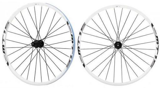 Комплект колес Shimano, MT15A, передн. и задн, 29', C.Lock, QR, цв. бел