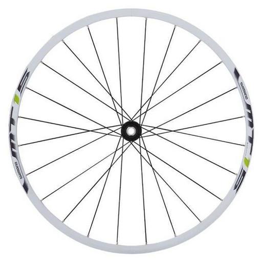 Комплект колес Shimano, MT15, 29'', C.Lock, на 9-10ск, QR, цв. белый с зелен.