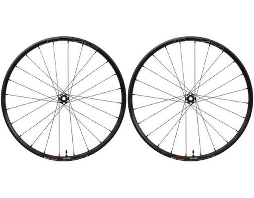 """Комплект колес Shimano, MT-600, передн. и задн., F:15/R12мм E-THRU, 27,5"""", для 11ск., C.Lock, OLD 100/142, цв. черный"""