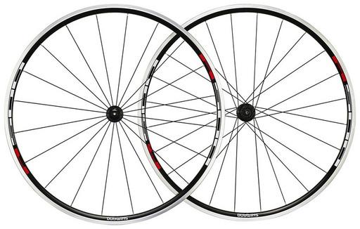 """Комплект колес Shimano, R501, 28"""", цв. черный"""
