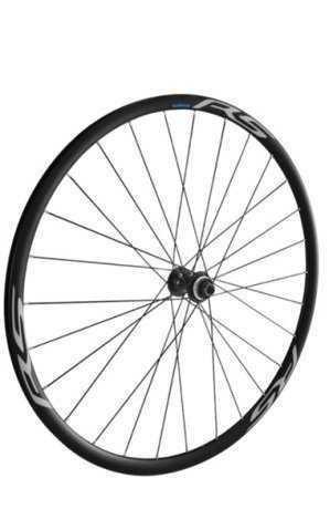 Комплект колес Shimano, RS170, пер. задн, 10-11ск, клинчерн. под диск. торм. C.Lock, под полые оси, цв. черный