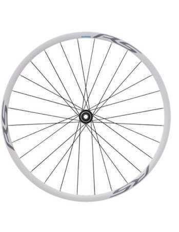 Комплект колес Shimano, RS170, пер. задн, 10-11ск, клинчерн. под диск. торм. C.Lock, под полые оси, цв. белый