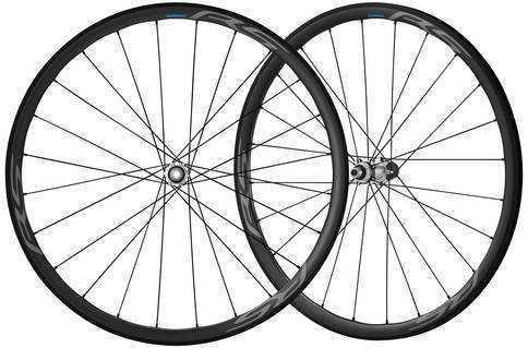 Комплект колес Shimano, RS770, пер. задн, 10-11ск, клинчерн. под диск. торм. C.Lock, под полые оси, цв. черный